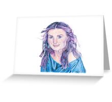 Idina Menzel Greeting Card