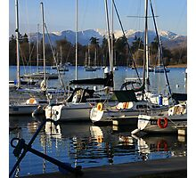 Bowness Boats Photographic Print