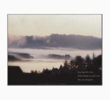 foggy sunrise, Columbia River, Oregon, Haiku by PoemsProseArt