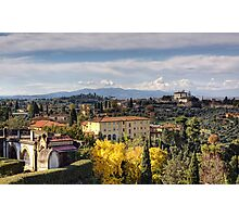 A Tuscan View Photographic Print