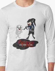 Artorias Time! With Artorias & Sif Long Sleeve T-Shirt