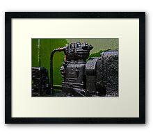 Old Engine Framed Print