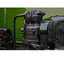 Old Engine Photographic Print