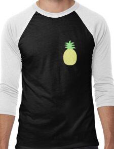 Pinapple Pattern Men's Baseball ¾ T-Shirt