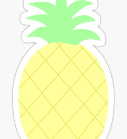 Pinapple Pattern Sticker