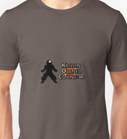 Krillin Owned Count(Dragon Ball Z Abridged) Unisex T-Shirt