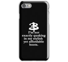 Buffy The Vampire Slayer Quote v2.0 iPhone Case/Skin
