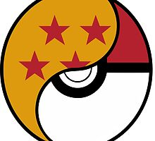 Dragon Ball x Pokemon by MountyBounty