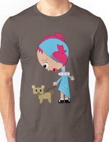 Susy and her dog Unisex T-Shirt