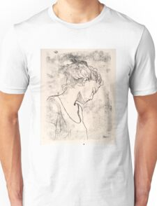 Profile, girl Unisex T-Shirt
