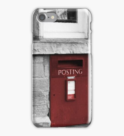 Postal Service Red Select iPhone Case/Skin