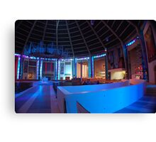 Inside the Wigwam! Liverpool Metropolitain Cathedral 2 Canvas Print