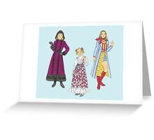 1970's Sisters Greeting Card