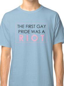 Riot Pride #1 Classic T-Shirt
