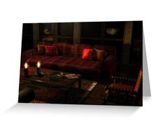 Living room dream 2 Greeting Card