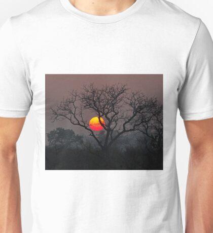 Sunset At Londolozi Unisex T-Shirt