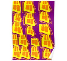 17 Pieces Of Toast Poster