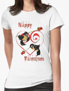 Valentines Day Sparrow  T-Shirt