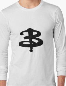 Buffy The Vampire Slayer 'B' v3.0 Long Sleeve T-Shirt