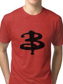 Buffy The Vampire Slayer 'B' v3.0 Tri-blend T-Shirt
