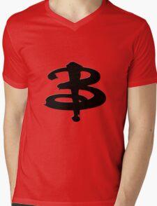 Buffy The Vampire Slayer 'B' v3.0 Mens V-Neck T-Shirt