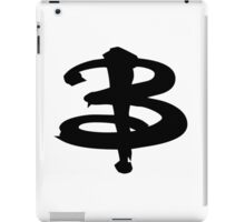Buffy The Vampire Slayer 'B' v3.0 iPad Case/Skin