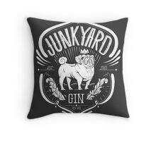 Junkyard Gin Throw Pillow
