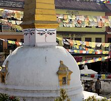 Stupa by Harry Oldmeadow