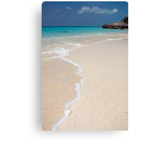 Beach, Rose Island, Bahamas Canvas Print
