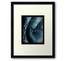 firefly friends Framed Print