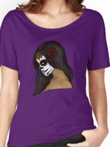 The Day Of The Dead Girl (2) Women's Relaxed Fit T-Shirt