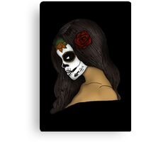 The Day Of The Dead Girl Canvas Print