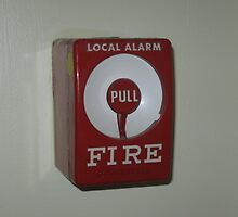Local alarm Manual/Regular Pull Station for Fire Bell Activation by Eric Sanford