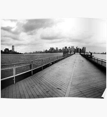 Liberty Island Poster