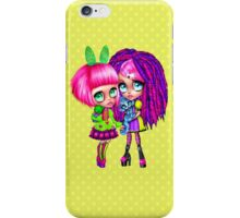 Cute anime girl friendship iPhone Case/Skin