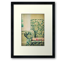 chair love Framed Print