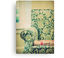 chair love Canvas Print