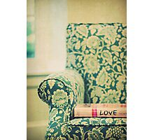 chair love Photographic Print