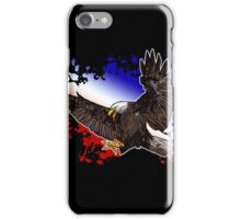 Bald Eagle - Red, White & Blue (2) iPhone Case/Skin