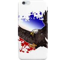 Bald Eagle - Red, White & Blue iPhone Case/Skin