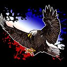 Bald Eagle - Red, White & Blue (2) by Adamzworld