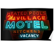 The Village Motel Poster