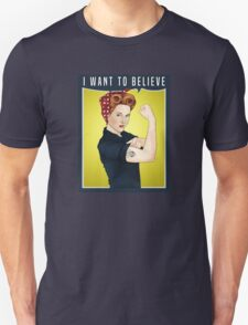 Scully the riveter T-Shirt