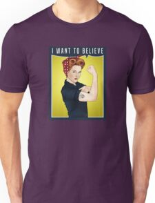 Scully the riveter Unisex T-Shirt
