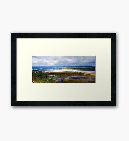 Loughros bay Framed Print