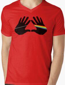 Dark side hands Mens V-Neck T-Shirt