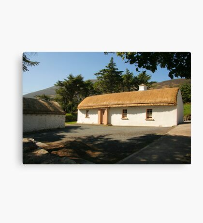 Glencolmcille cottage Canvas Print