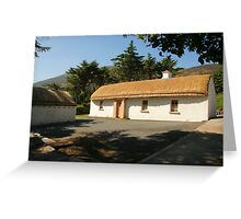 Glencolmcille cottage Greeting Card