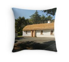 Glencolmcille cottage Throw Pillow