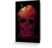 Skull Candle (2) Greeting Card